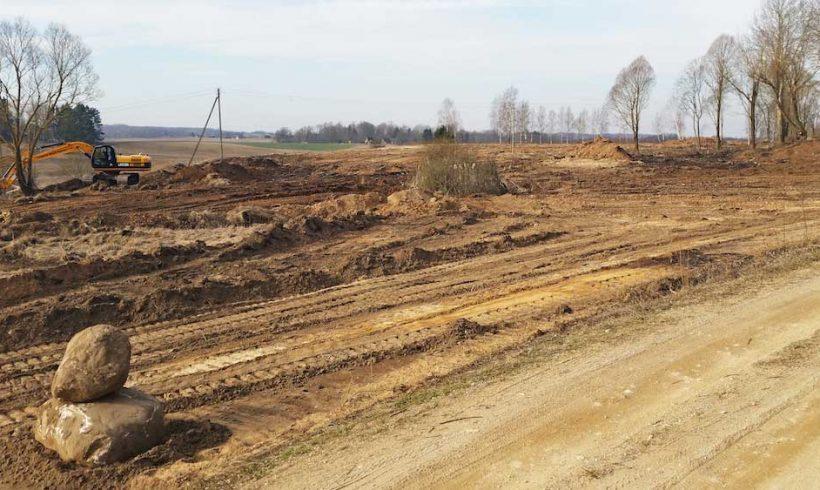 Landšafto tvarkymo darbai Molėtų rajone
